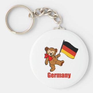 Germany Teddy Bear Key Ring