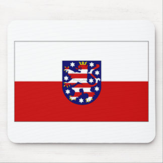 Germany Thuringia Flag Mouse Mat