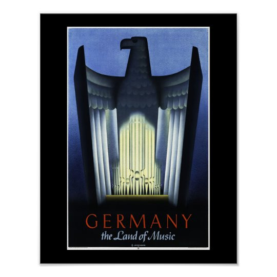 Germany Tourism Poster
