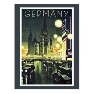 Germany travel ad Berlin Postcards