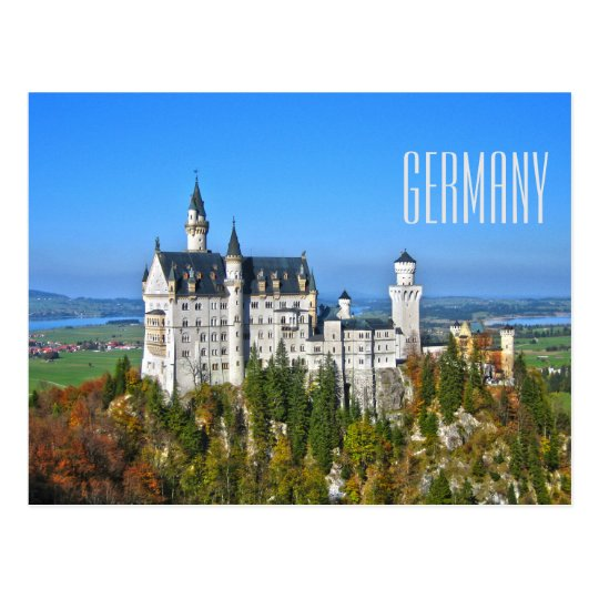 Germany Travel Tourism Postcard
