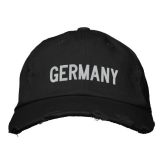 GERMANY Twill Cap Embroidered Hats