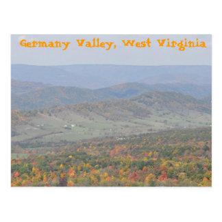 Germany Valley, West Virginia Postcard
