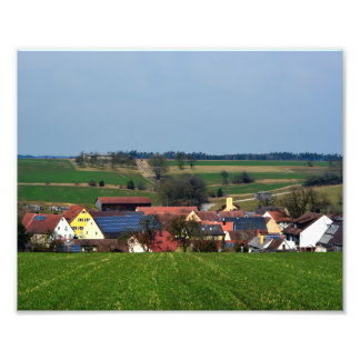 Germany villages photo print