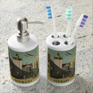 GERMANY Vintage Travel bathroom set