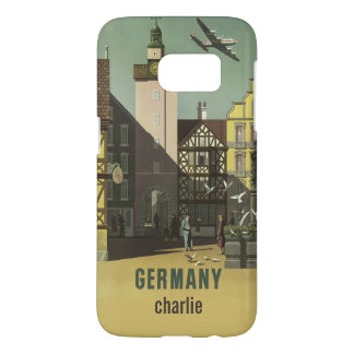 GERMANY Vintage Travel custom name phone cases
