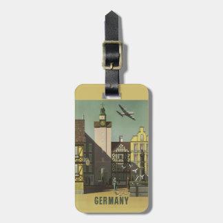 GERMANY Vintage Travel custom tag