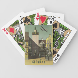GERMANY Vintage Travel playing cards
