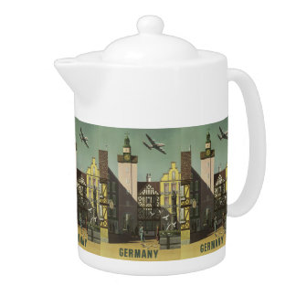 GERMANY Vintage Travel teapot