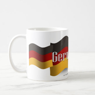 Germany Waving Flag Basic White Mug