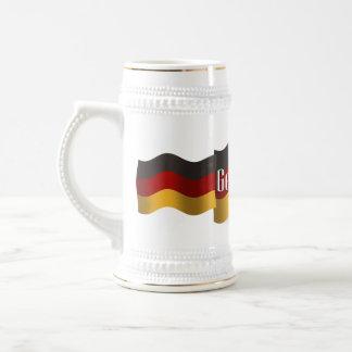 Germany Waving Flag Beer Steins