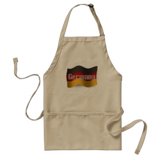 Germany Waving Flag Standard Apron