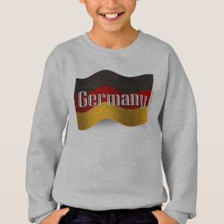 Germany Waving Flag Sweatshirt