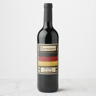Germany Wine Label