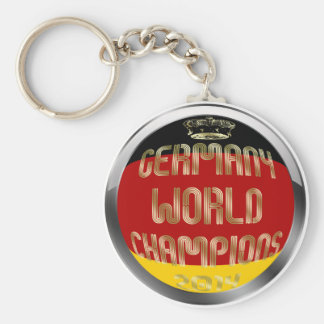 Germany World Champions 2014 Soccer Basic Round Button Key Ring