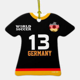 Germany World Cup Soccer Jersey Ornament