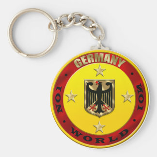 Germany World No 1 Luxury Eagle Shield Key Chain