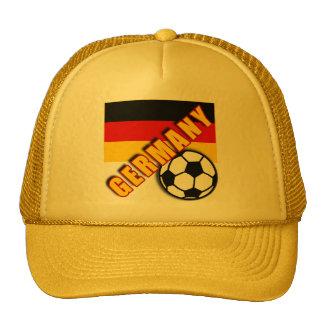 GERMANY World Soccer Fan Tshirts Trucker Hat