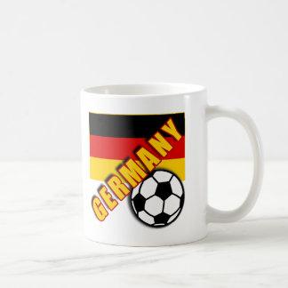 GERMANY World Soccer Fan Tshirts Basic White Mug