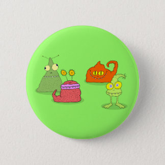 Germs 6 Cm Round Badge