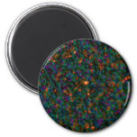 Germs  Abstract by Valxart.com Refrigerator Magnet