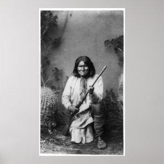 Geronimo [1886] poster