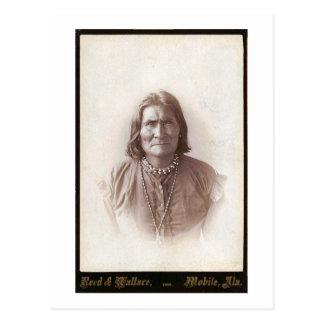 Geronimo 1888 postcard