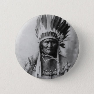 Geronimo 6 Cm Round Badge
