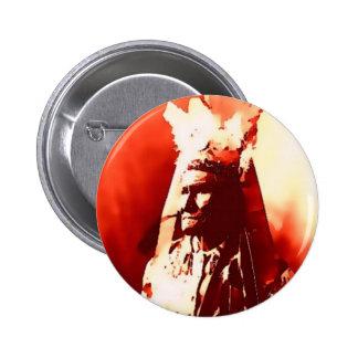Geronimo 6 Cm Round Badge