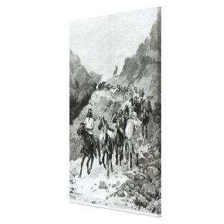 Geronimo and his Band Canvas Print