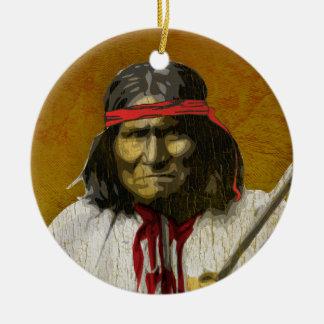 Geronimo Christmas Ornament