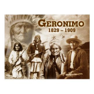 Geronimo of the Chiricahua Apache Postcards