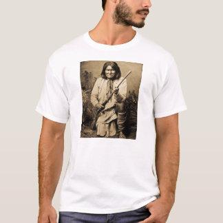 Geronimo with Rifle 1886 Vintage T-Shirt