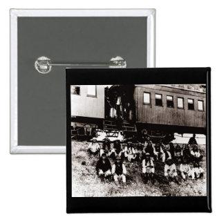 Geronimo's Band 15 Cm Square Badge