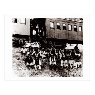Geronimo's Band Postcard
