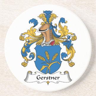Gerstner Family Crest Beverage Coaster