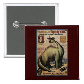 Gertie The Dinosaur Pin