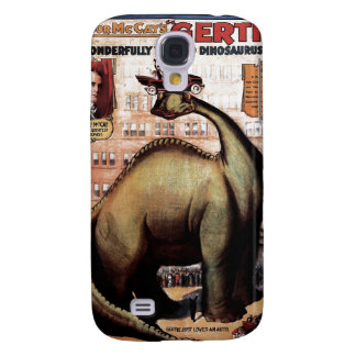 Gertie the Dinosaur Samsung Galaxy S4 Covers