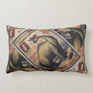 Gertie The Dinosaur Throw Pillows
