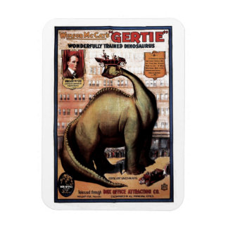Gertie the Dinosaur Rectangular Photo Magnet