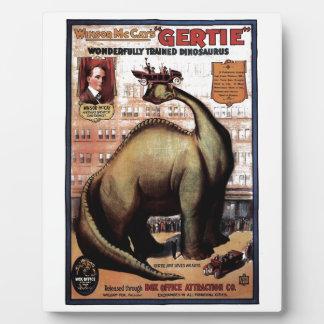 Gertie the Dinosaur Plaques