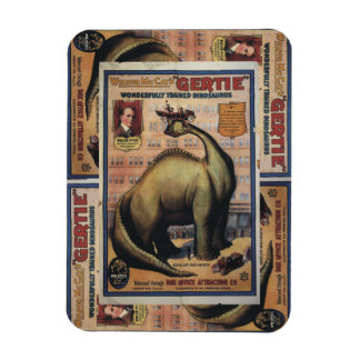 Gertie The Dinosaur Rectangular Magnets