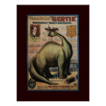 Gertie the Dinosaur Print