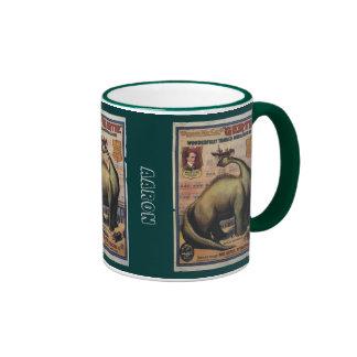 Gertie The Dinosaur Ringer Mug