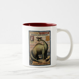 Gertie The Dinosaur Two-Tone Coffee Mug