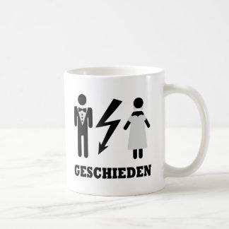 geschieden icon coffee mug