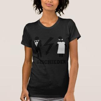 geschieden icon tee shirts