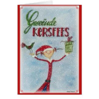 Geseende Kersfees Card