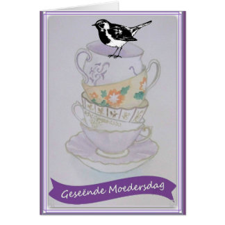 Geseende Moedersdag Card