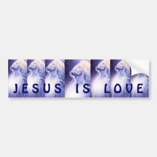 Gesu is Love Bumper Sticker